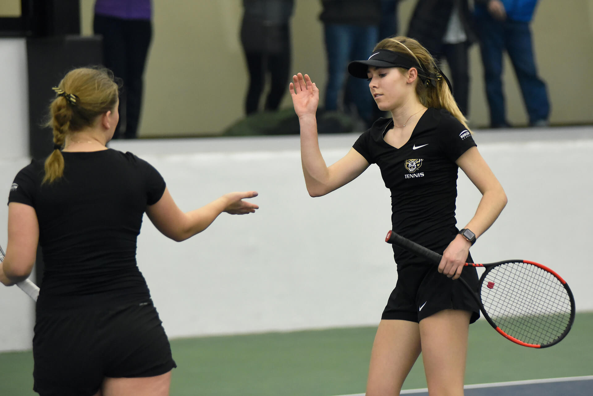 Ava Thielman Oakland Golden Grizzlies Tennis FanWord 1